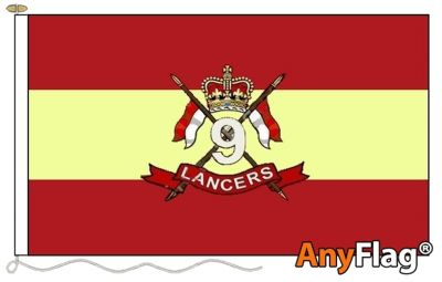 - 9TH QUEENS ROYAL LANCERS ANYFLAG RANGE - VARIOUS SIZES